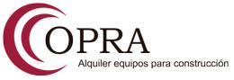 Alquiler de equipos y andamios para la construcción – OPRA S.A. Logo