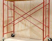 Cuerpo de andamio con plataforma madera